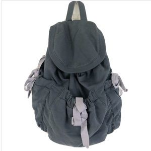 🎉 GAP Body Fit Mini Backpack Blue Gray